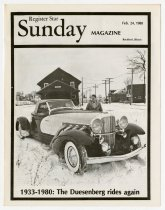 "Image of Magazine on ""Duesenberg Rides Again"" - Jack Randinelli ACD Collection"
