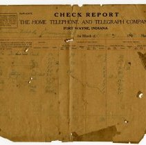 Image of Home Telephone and Telegraph Company Report - John Martin Smith Miscellaneous Collection