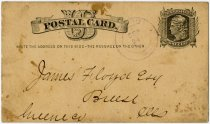 Image of 1878 Postcard Notice of Meeting for Horse Thief Detective Society - John Martin Smith Miscellaneous Collection