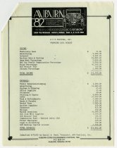 Image of Proposed 1983 Budget for ACD Festival, Inc. - Jack Randinelli ACD Collection