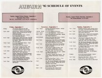 Image of 1982 Labor Day Weekend Festival and Museum Brochure - Jack Randinelli ACD Collection