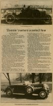 """Image of """"Duesie"""" owners are a select few - Jack Randinelli ACD Collection"""