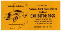 Image of 18th Annual ACD Festival Exhibitor Pass - Jack Randinelli ACD Collection
