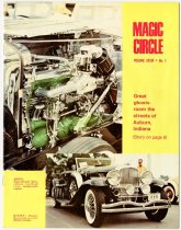 Image of Magic Circle Magazine with Duesenberg article - Jack Randinelli ACD Collection