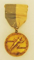 Image of 2014.12.06 - This is Don Lash's first place award for the 4 mile relay at the Drake University Relays, 1935.