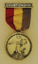 Image of 2014.12.06 - This is Don Lash's 1941 Championship Medal from the Amateur Athletic Union of the United States for the 3 Mile Run.