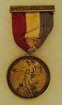 Image of 2014.12.06 - This is Don Lash's 1940 Championship Medal from the Amateur Athletic Union of the United States for Cross Country.