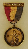 Image of 2014.12.06 - This is Don Lash's 1934 Championship Medal from the Amateur Athletic Union of the United States for Cross Country.