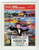 Image of Kruse International Presents the 19th annual Auburn '89 auction - Jack Randinelli ACD Collection
