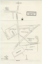 Image of Map of Eckhart Park for Auburn in the Spring auction, car show and swap meet - Jack Randinelli ACD Collection