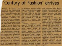 Image of 'Century of Fashion' collection arrives  - Jack Randinelli ACD Collection