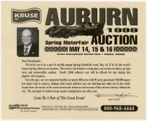 Image of Attractions and opportunities at Auburn '99 Collector Car Auction - Jack Randinelli ACD Collection