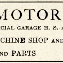 Image of 1916 Scarborough's Official Tour Book Advertisement for Stanley Motor Company, Liberty, Indiana - John Martin Smith Miscellaneous Collection