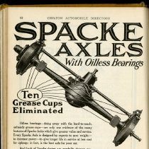 Image of 1920 Advertisement for the Spacke Machine & Tool Company, Indianapolis, Indiana - John Martin Smith Miscellaneous Collection