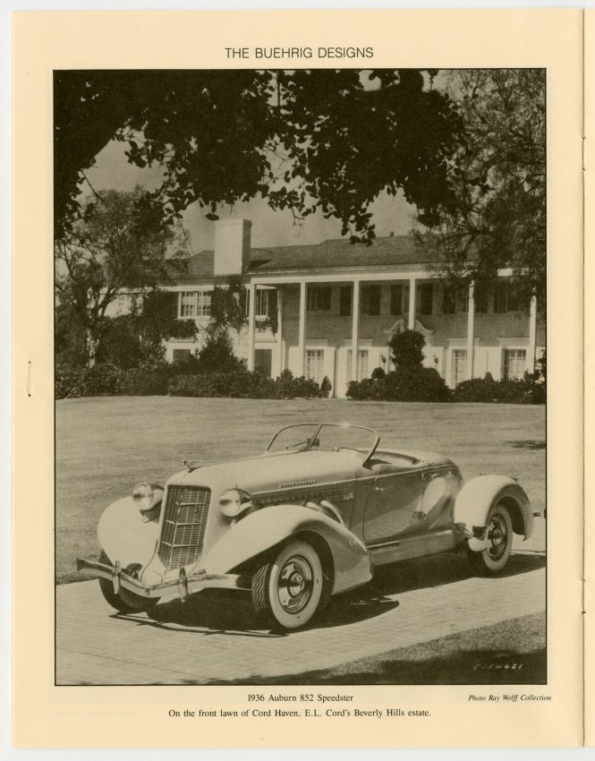 The Accelerator Magazine: Gordon Miller Buehrig - Jack Randinelli ...