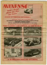 """Image of Auburn '86 Classic """"World's greatest classic car show and auction"""" - Jack Randinelli ACD Collection"""