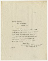 Image of Letter from Charles Eckhart to Patrick Edgeworth - Charles Eckhart & W. H. McIntosh Collection