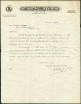 Image of Letter from American Seating Company to Charles Eckhart regarding seats for Carnegie Library at Auburn - Charles Eckhart & W. H. McIntosh Collection