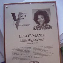 Image of Leslie Maxie