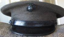 Image of U.S. Marine Corp Uniform Hat 2009.032.003