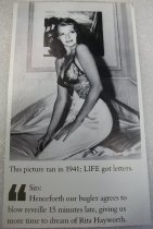 Image of Rita Hayworth Life Magazine Clipping 2010.090.072