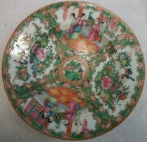 Image of Holbrook-Palmer Rose Canton Bowl, mid-19th century
