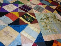 Image of Patchwork Quilt Detail