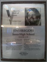 Image of Jim Fregosi Sports Hall of Fame plaque