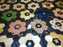 Image of Paper-pieced Quilt Detail