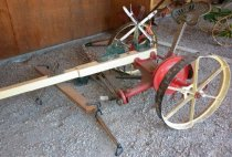 Image of 1892 Seated Two Horse Sickle Bar Mower