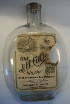 Image of Old J.H. Cutter Whiskey Bottle
