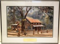 Image of 1986 Woodside Store Watercolor by Edith Ford
