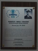 "Image of 2013 Ernest ""Mel"" Moore Sports Hall of Fame Plaque"