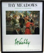 Image of 1982 Bay Meadows Poster