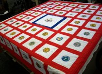 Image of 1977 50 State Bicentennial Quilt