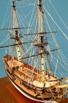 Image of San Carlos Model Ship by Charles Parsons