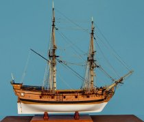 Image of San Carlos Ship Model by Charles Parsons