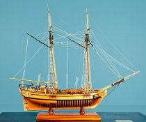Image of HMS Halifax Model Ship by Charles Parson