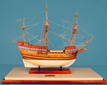 Image of Golden HInd Model Ship by Charles Parsons
