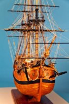 Image of HM Bark Endeavor Model Ship by Charles Parsons