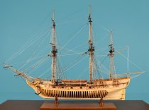 Image of Rattlesnake Model Ship by Charles Parson