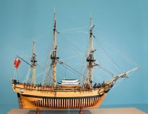 Image of HMAV Bounty Model Ship by Charles Parsons