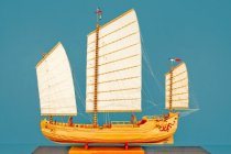 Image of Foochow Pole Junk Model Ship by Charles Parsons