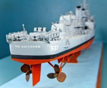 Image of USS The Sullivans Model Ship by Charles Parsons