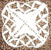 Image of c. 1970 Lace Doily