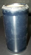 "Image of 2013.036.016 - c. 1916 Edison Blue Amberol Cylinder ""A Country Fiddler at the Telephone"" (monologue) by Charles Ross Taggart is cylindrical in shape with a hollow center, made of celluloid plastic, and is blue in color. The outer edges (1/2"" each end) are smooth, while the center of the cylinder is rough/ridged. The song title is written on one end. The inside is lined with plaster of paris and is ribbed."