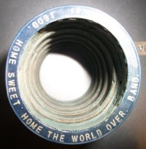 Image of Edison Blue Amberol Cylinder- Home Sweet Home the World Over
