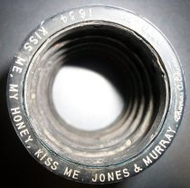 Image of Edison Blue Amberol Cylinder- Kiss Me, My Honey, Kiss Me