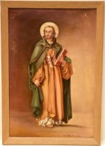 Image of Saint Matthew by Charlotta Durelli