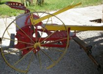 Image of Two-Horse Corn Stalk Chopper
